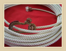 King rope with rawhide honda with colored string